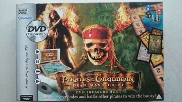 Pirates of the Caribbean Dead Mans Chest DVD Game  By Parker 2006